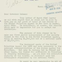 Letter : 1936 March 27