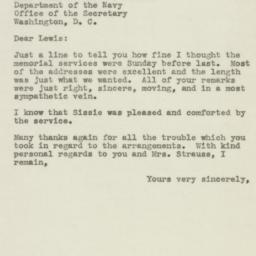Letter : 1945 December 4