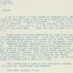 Letter : 1937 January 4