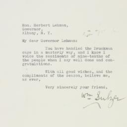 Letter : 1935 December 11