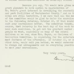 Letter : 1938 August 17