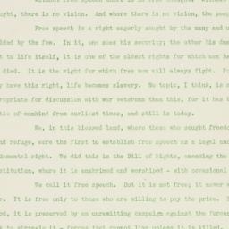Speech: 1938 August 22