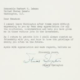 Letter: 1952 January 8