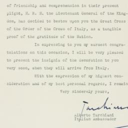 Letter : 1946 April 30