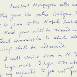 Letter : 1961 October 24