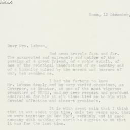 Letter : 1963 December 12