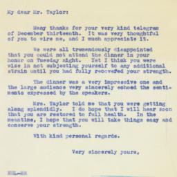 Letter : 1939 December 14