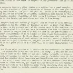 Letter : 1938 October 8