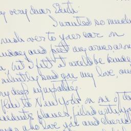 Letter : 1963 December 11