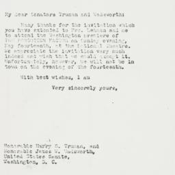 Letter : 1944 May 1