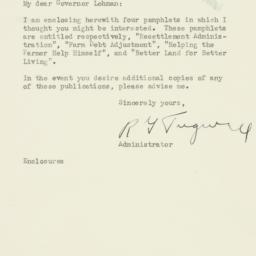 Letter : 1936 June 9