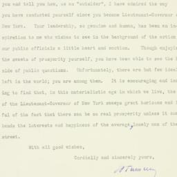 Letter : 1929 October 17