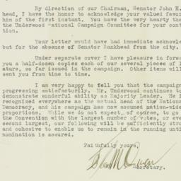 Letter : 1912 April 5