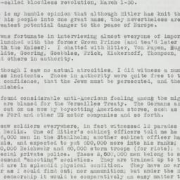 Letter : 1933 April 3