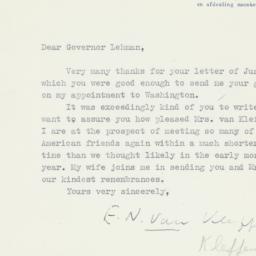 Letter : 1947 July 2