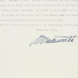 Letter : 1947 April 22