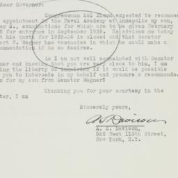 Letter : 1934 October 19