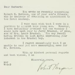 Letter : 1934 November 16