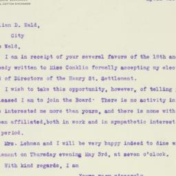 Letter : 1917 April 21