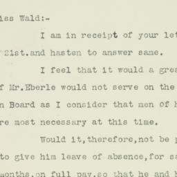 Letter : 1917 November 23