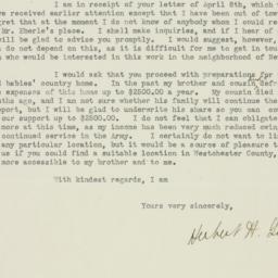 Letter: 1919 April 16
