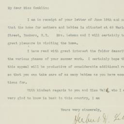 Letter : 1919 June 25
