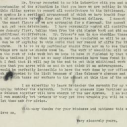 Letter : 1920 August 30