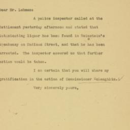 Letter: 1926 December 23