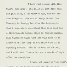 Letter : 1932 November 13