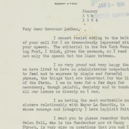 Letter : 1934 January 5