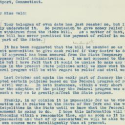 Letter : 1934 February 2