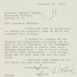 Letter : 1934 December 28