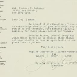 Letter : 1925 September 12
