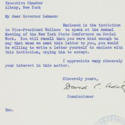 Letter : 1941 August 5