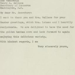 Letter : 1945 April 2