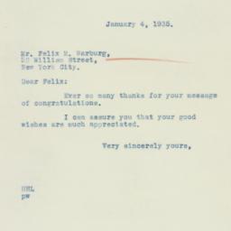 Letter : 1935 January 4