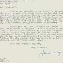 Letter : 1951 March 5