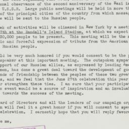 Letter : 1943 May 21