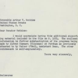 Letter : 1953 May 6