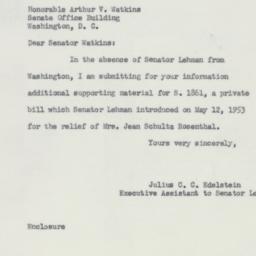 Letter : 1953 September 24