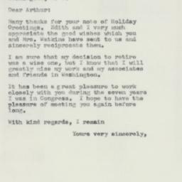 Letter : 1956 December 21