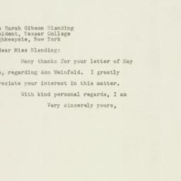 Letter : 1948 May 12