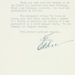 Letter : 1948 May 13