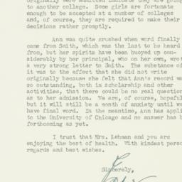 Letter : 1948 June 4