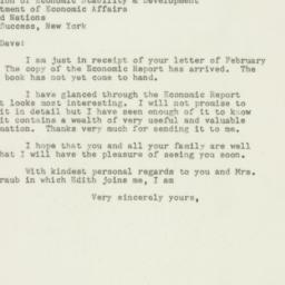 Letter : 1948 February 10