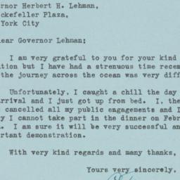 Letter : 1948 February 11