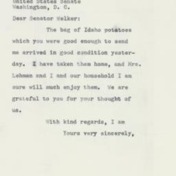 Letter : 1956 February 9