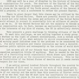 Letter : 1953 December 15