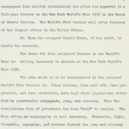 Letter: 1938 December 7
