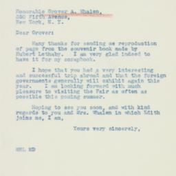 Letter : 1940 January 17